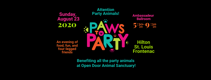 PAWS to PARTY! @ Hilton St. Louis Frontenac